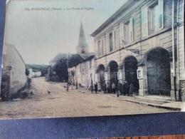 Stainville - Mairie Et église. Couleur - Autres Communes
