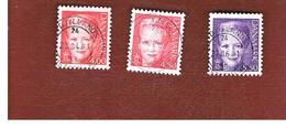 DANIMARCA (DENMARK)  -   SG 1194.1199   -  2000   QUEEN MARGRETHE II      - USED ° - Usati