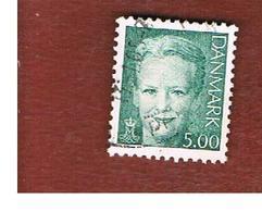 DANIMARCA (DENMARK)  -   SG 1197   -  2000   QUEEN MARGRETHE II   5,00     - USED ° - Danimarca