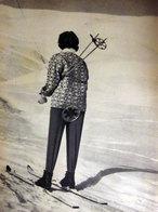 L'ULTIMA IMMAGINE DELL'IMPERATRICE SORAYA 1960 IMMAGINE DA CARTACEO D'EPOCA PICTURE OF VINTAGE PAPER - Immagine Tagliata