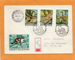 Hungary 1979 FDC Mailed - FDC