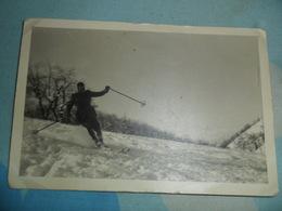 Foto ALPINO SUGLI SCI CHIUSA PASIO 1941 - Persone Anonimi