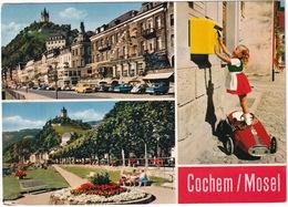 Cochem: FERRARI PEDAL-CAR - FORD STREIFENTAUNUS, VW 1200 (SPLIT) KÄFER/COX, MERCEDES 180 - Toerisme