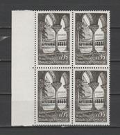 FRANCE / 1963 / Y&T N° 1394 ** : Abbaye De Moissac X 4 En Bloc - Gomme D'origine Intacte - France