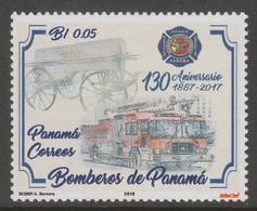 "Panama 2018 ""fireman, Fire""  XX (MNH) - Sapeurs-Pompiers"
