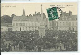 Arras- Le Marché Aux Bestiaux (un Samedi) - Arras