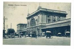 Livorno - Stazione Ferroviaria (animation, Tramway) Pas Circulé - Livorno
