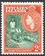 PITCAIRN ISLANDS 1957 2/- Island Wheelbarrow MNH - Stamps
