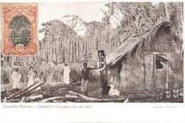 NOUVELLES HEBRIDES    PLANTATION D ' IGNAMES CHEZ UN COLON - Fidji