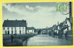 * Menen - Menin * (SBP, Nr 16) La Lys, De Leie, Canal, Quai, Unique, TOP, Prachtkaart, Timbre, Animée, Rare, Zeldzaam - Menen