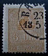 B2886 - Sweden - 1862 - Mich. 14  II - Schweden