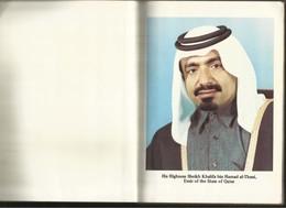 Qatar Year Book 1978 - 1979 Information & Picture Book 204 Page Size 21 X 15 Cm - Qatar