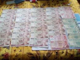 Turquie 79 Billets -Etat-état Moyen -très Moyen Et Usagés Voir Scan - Coins & Banknotes
