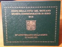 VATICANO  2018  2 Euro   Padre Pio  FDC - Vatican