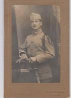 Carte Photo - Militaire - Sabre - N° 16 Sur Le Col - Army & War