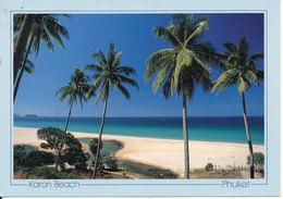 Thailand Postcard Sent To Denmark 3-1-1997 (Karon Beach Puket) 1 Weak Corner - Thaïlande