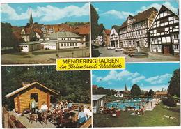Mengeringhausen: BMW 2500, NSU PRINZ IV, FORD TAUNUS 12M P4 - Waldeck - Toerisme