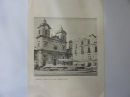 """Biglietto Per Auguri """"PORTICI - Piazza S. Ciro Con L'artistica Fontana""""  Anni '60 - Vieux Papiers"""