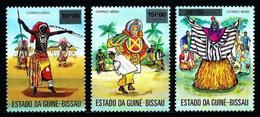 Guinea-Bissau Nº Yvert A-3/5 En Nuevo - Guinea-Bissau