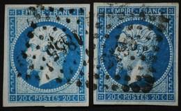 NAPOLEON III. .n°14  A   Obl - 1853-1860 Napoléon III