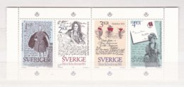 Sweden 1984 Old Letters Souvenir Sheet   MNH/**    (M4) - Poste