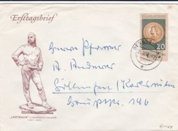 DDR FDC 1960 400th Anniv. Of The Dresden Art Gallery    (0032) - FDC: Enveloppes