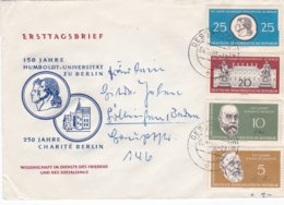 DDR FDC 1960 Humboldt University, Berlin   (0032) - FDC: Enveloppes