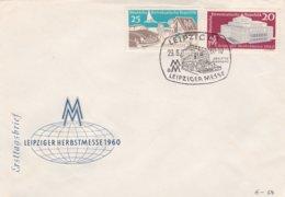 DDR FDC 1960  Leipzig Fall Fair   (0032) - FDC: Enveloppes