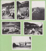 LES GORGES DU DOUBS , Août 1933 : , 6 Photos Dont Lac De Saint Point Et Sommet De La Dôle - Lieux
