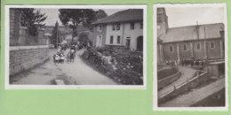 BELLEFONTAINE (Jura), Août 1933 : 2 Photos, Procession Du 15 Aoüt 1933. - Lieux