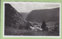 Vue Sur MOREZ,  Août 1933 - Lieux