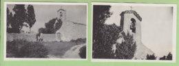 SERRIERES, PEYRAUD Août 1932 : Clocher De La Chapelle De Verlieux Au Dessus De Serrières,  2 Photos. - Lieux