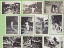 SABLONS Près Serrières, Août 1932 : 13 Photos. - Lieux