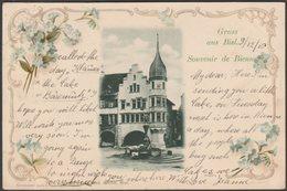 Gruss Aus Biel, Souvenir De Bienne, Künstlerheim, Bern, 1906 - Sessler AK - BE Berne