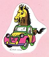Sticker - Citroên 2 Pk Met Paard - Lubeck - Alkmaar - Autocollants
