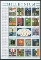 D002 ZAMBIA MILLENNIUM 1950 TO 2000 1SH MNH - Histoire