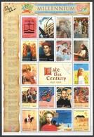 D003 ANTIGUA & BARBUDA MILLENNIUM LATE 13TH CENTURY 1250-1300 1SH MNH - Histoire