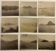 Italie. Lac De Côme. 32 Photos. Vers 1900. Montagne. Glacier. Italia. - Photos