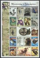 D006 MONGOL POST MILLENNIUM OF EXPLORATION CHARLES DARWIN 1809-1882 1SH MNH - Histoire