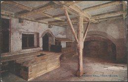 The Kitchen, Haddon Hall, Derbyshire, 1924 - Photochrom Postcard - Derbyshire