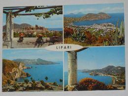 MESSINA - Isole Eolie - Isola Di Lipari - 4 Vedute - 1966 - Messina