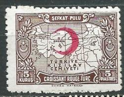 Turquie  - Timbre De Bienfaisance   - Yvert N °  26 *   Abc 30518 - 1921-... République