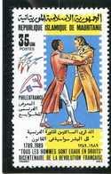 Neuf -Bicentenaire De La Révolution Française - Mauritanie (1960-...)