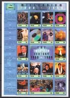 D020 PALAU MILLENNIUM 1000-2000 20TH CENTURY 1980-1989 THE 1980'S 1SH MNH - Histoire