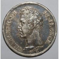 GADOURY 643 - 5 FRANCS 1826 W Lille CHARLES X 1er TYPE - TTB - KM 720 - - J. 5 Francs