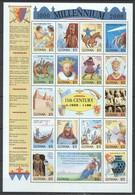 D035 GUYANA MILLENNIUM 1000-2000 11TH CENTURY 1050-1100 1SH MNH - Histoire