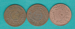 Yemen - Arab Republic - ½ Buqsha (1/80 Riyal) AH1382 (1963) - KMY20; KMY21.1 & KMY21.2 - Yémen