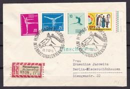 DDR - 1961/62 - Michel Nr. 830/832+906 - Einschreiben Mit Sonderstempel - DDR