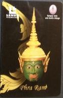 Telefonkarte Thailand - Lenso - Phra Ram -  300 Baht - Thaïland