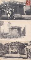 ¤¤  -  Lot De 8 Cartes  -   SAINT-NAZAIRE  -  Le Dolmen   -  ¤¤ - Bouguenais